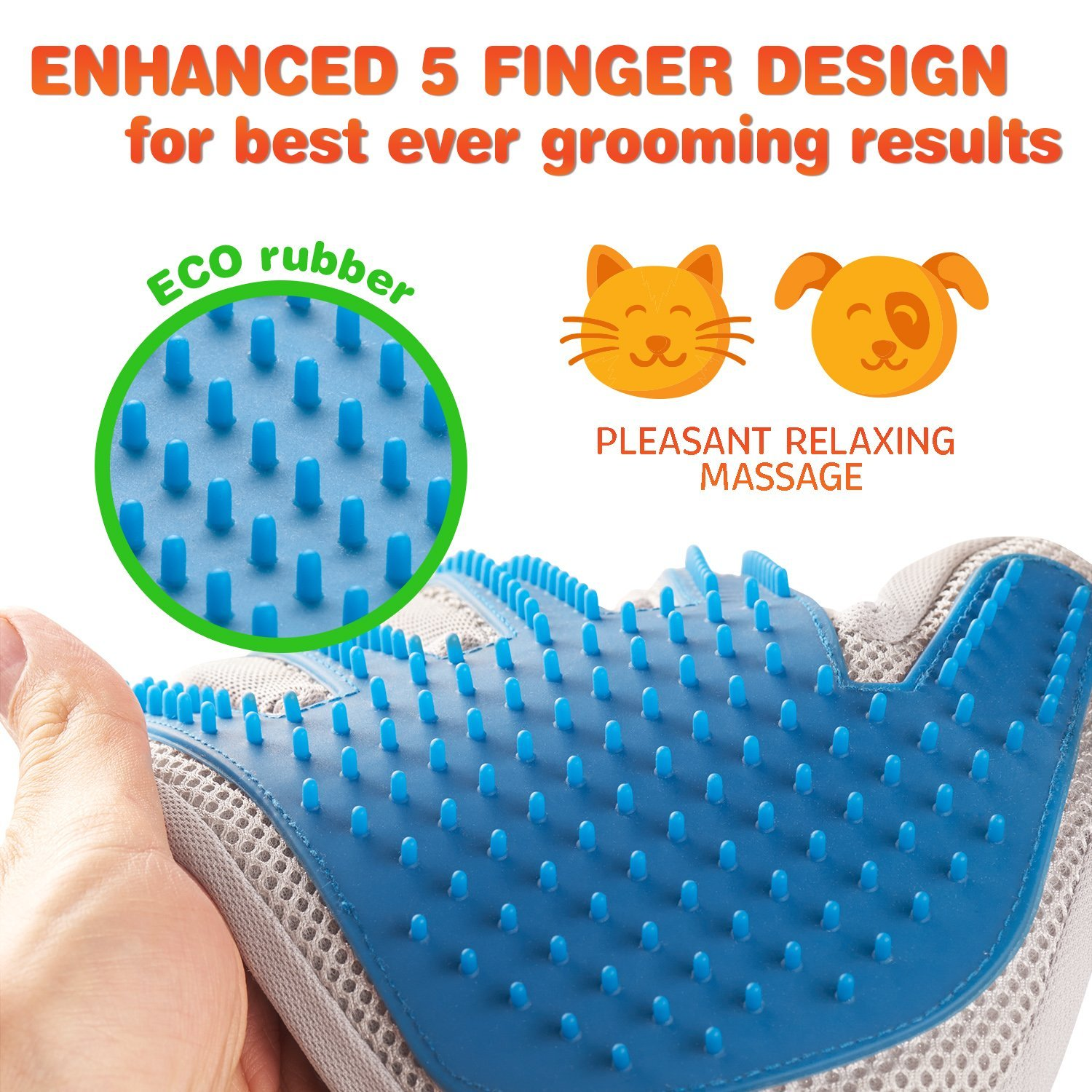 Review of Pat Your Pet Grooming Glove for Cats and Dogs