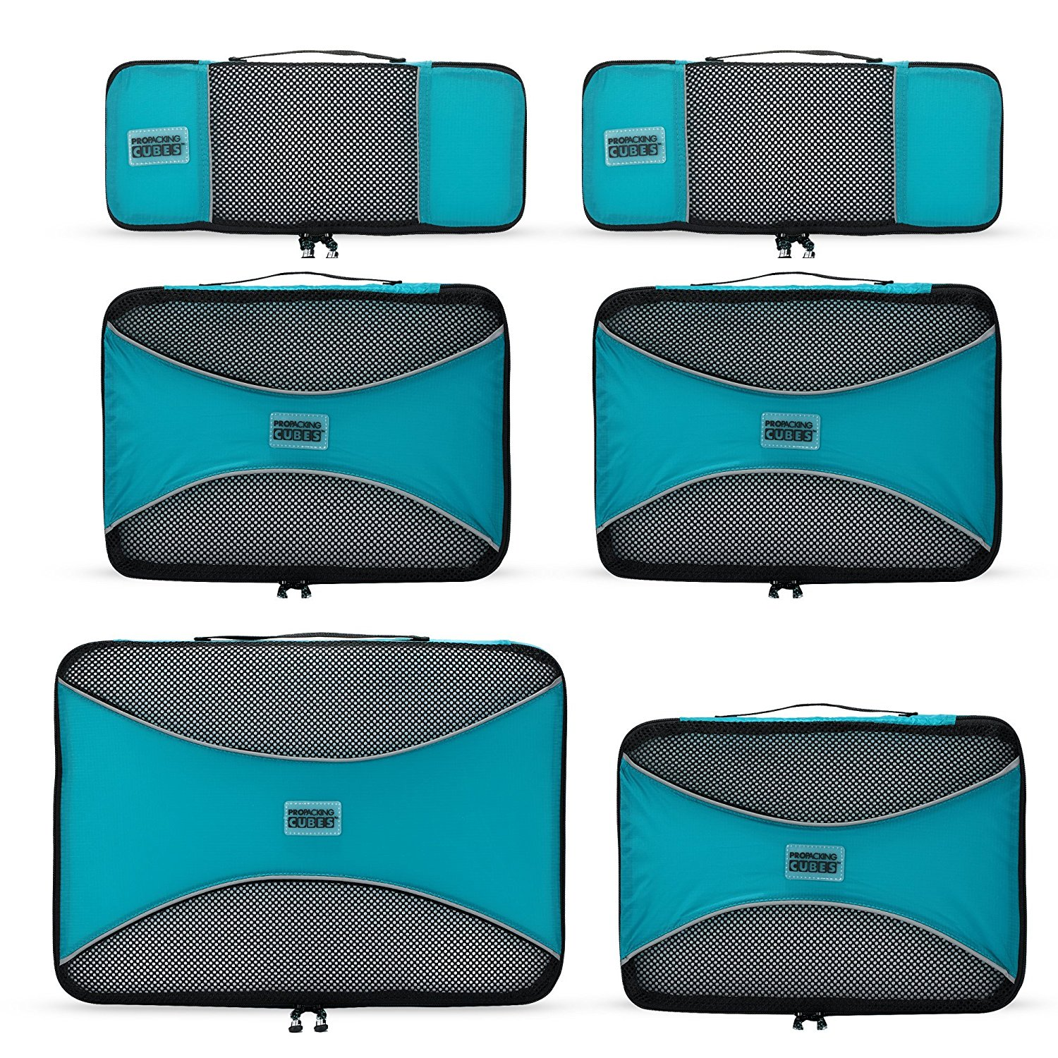 Review Of The Best Travel Bag Pro Packing Cubes 6 Piece