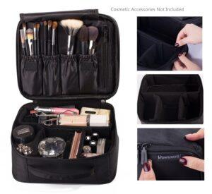 Rownyeon Portable Travel Makeup Bag