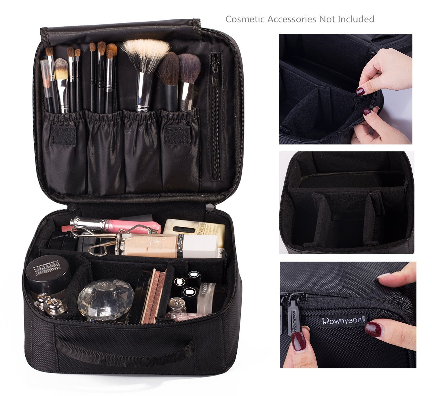 Review of the Best Travel Makeup Bag—Rownyeon Portable Travel Makeup Bag